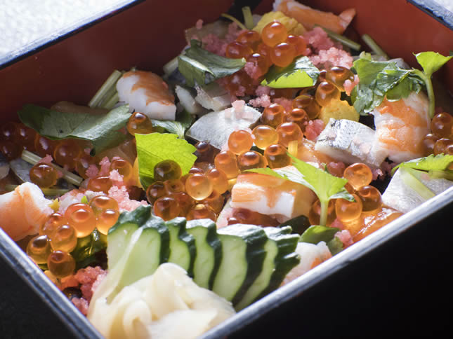 海鮮ちらし寿司(1日限定10食)