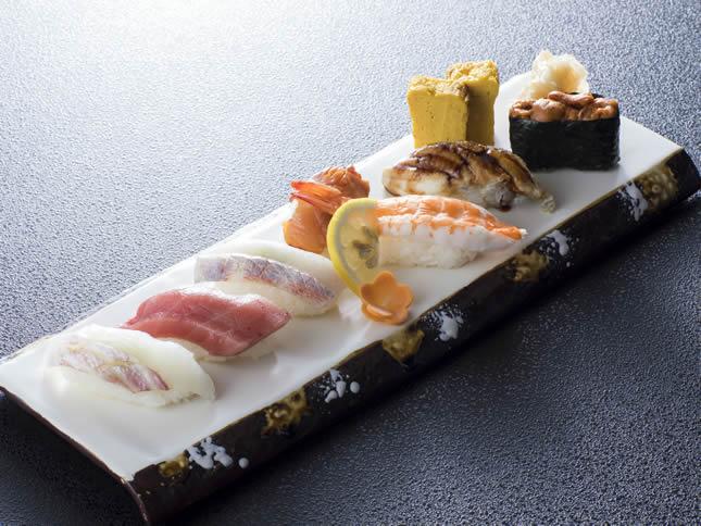 上にぎり寿司盛合せ