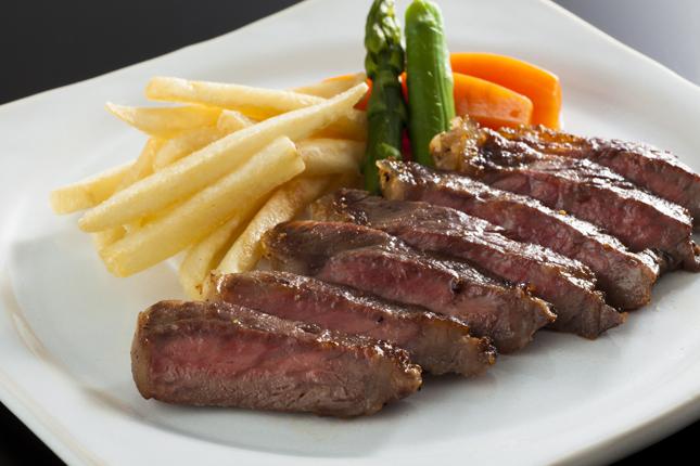 広島県産牛ステーキ