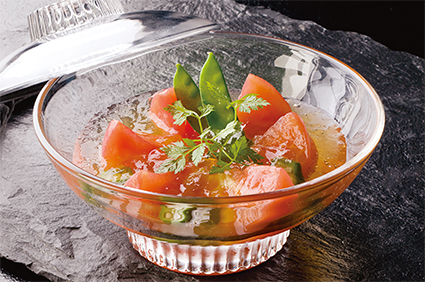 お出汁トマトサラダ