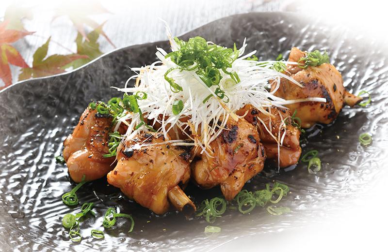 豪快骨付き鶏の甘辛山椒焼き