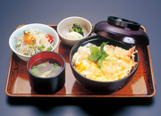 えび天丼(玉子とじ)
