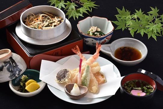 釜飯天ぷら膳