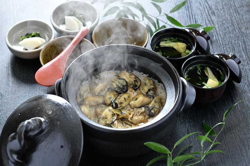 広島産かき土釜飯