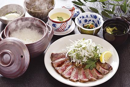広島県産牛定食