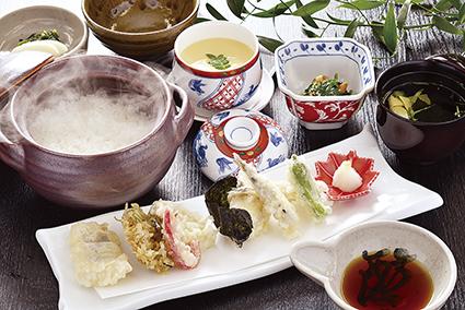 郷土天ぷら定食