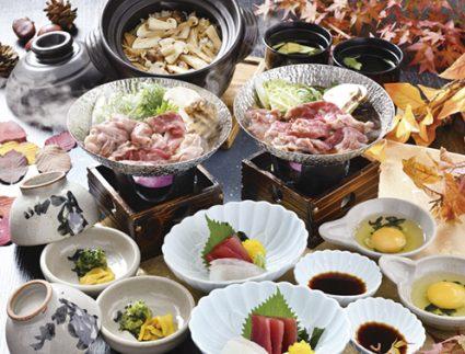 【ペアセット】松茸と黒毛和牛のすき焼き