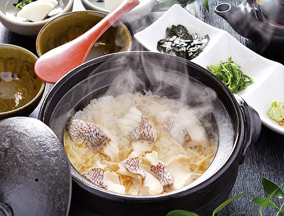 瀬戸内産 鯛の土釜飯