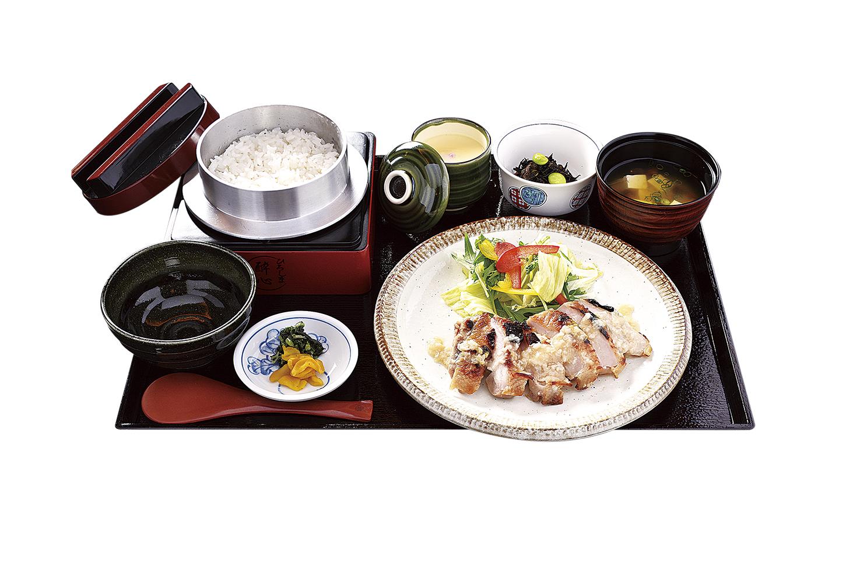 鶏塩麹焼き定食