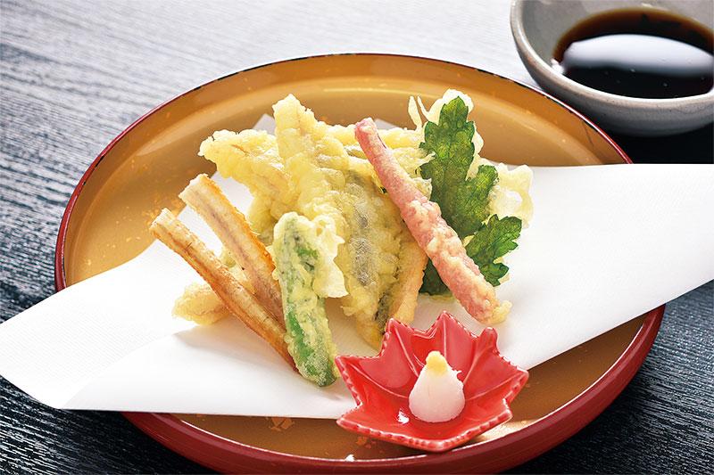 活国産天然 穴子の天ぷら