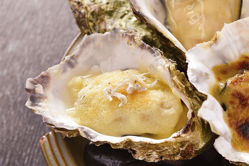 焼き牡蠣 単品(1個)