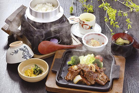 広島県産 牛焼肉定食