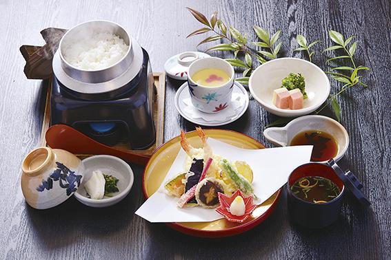 旬の天ぷら定食