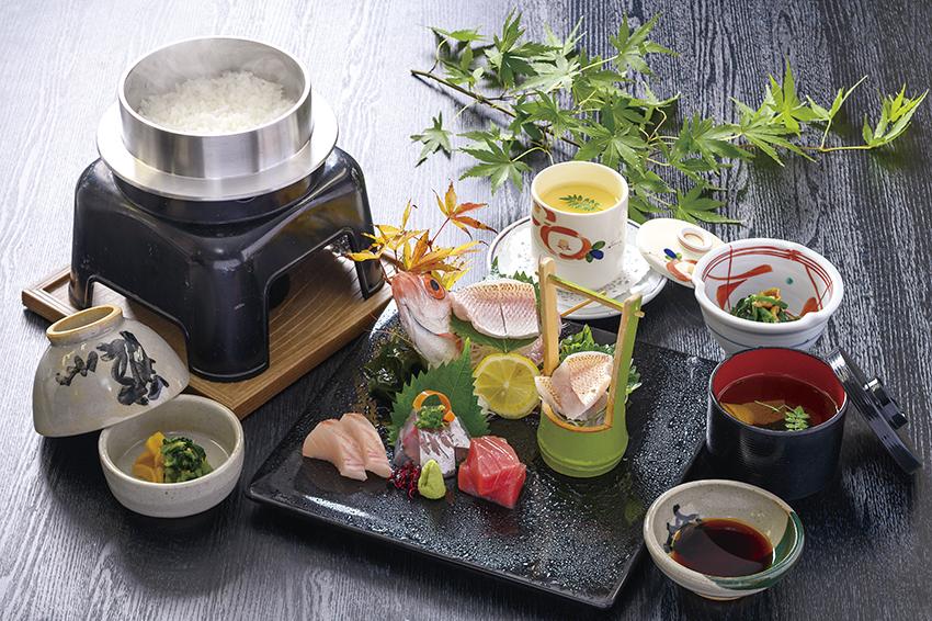 本日の鮮魚5種盛り『刺身定食』